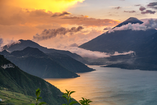 Atitlan Sunset