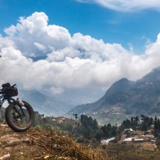 San Marcos district in the western highlands - the elevation here hovers around 2300m, | Expedition Volcanarchy: Fatbiking Guatemala's Highest Volcanoes. Original Date: 03/22/2016Location: Tajumulco , Guatemala© 2016 Brendan James Photography www.picsporadic.com