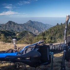Volcanarchy:  Fatbiking Guatemala's Highest Volcanoes. Sponsors: Fatback Bikes, Lauf Forks, Gore Bike Wear, Julbo USA. | Unnamed Road Ixchiguán, GuatemalaFilename: VC2016_EP02-XCHI-0323-GH3-057-PanoOriginal Date: 03/23/2016© 2016 Brendan James Photography www.picsporadic.com