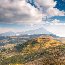 Volcanarchy:  Fatbiking Guatemala's Highest Volcanoes. Sponsors: Fatback Bikes, Lauf Forks, Gore Bike Wear, Julbo USA. | Piedras Partidas Ixchiguán, GuatemalaFilename: VC2016_EP02-XCHI-0324-G7-009-PanoOriginal Date: 03/24/2016© 2016 Brendan James Photography www.picsporadic.com