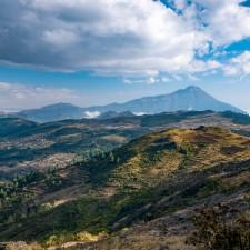 Volcanarchy:  Fatbiking Guatemala's Highest Volcanoes. Sponsors: Fatback Bikes, Lauf Forks, Gore Bike Wear, Julbo USA. | Piedras Partidas Ixchiguán, GuatemalaFilename: VC2016_EP02-XCHI-0324-G7-009-Pano-EditOriginal Date: 03/24/2016© 2016 Brendan James Photography www.picsporadic.com