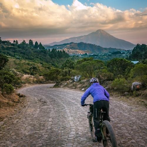 Volcanarchy:  Fatbiking Guatemala's Highest Volcanoes. Sponsors: Fatback Bikes, Lauf Forks, Gore Bike Wear, Julbo USA. | Piedras Partidas Ixchiguán, GuatemalaFilename: VC2016_EP02-XCHI-0324-G7-080Original Date: 03/24/2016© 2016 Brendan James Photography www.picsporadic.com