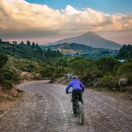Volcanarchy:  Fatbiking Guatemala's Highest Volcanoes. Sponsors: Fatback Bikes, Lauf Forks, Gore Bike Wear, Julbo USA. | Piedras Partidas Ixchiguán, GuatemalaFilename: VC2016_EP02-XCHI-0324-G7-082Original Date: 03/24/2016© 2016 Brendan James Photography www.picsporadic.com