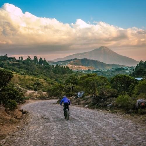 Volcanarchy:  Fatbiking Guatemala's Highest Volcanoes. Sponsors: Fatback Bikes, Lauf Forks, Gore Bike Wear, Julbo USA. | Piedras Partidas Ixchiguán, GuatemalaFilename: VC2016_EP02-XCHI-0324-G7-086Original Date: 03/24/2016© 2016 Brendan James Photography www.picsporadic.com
