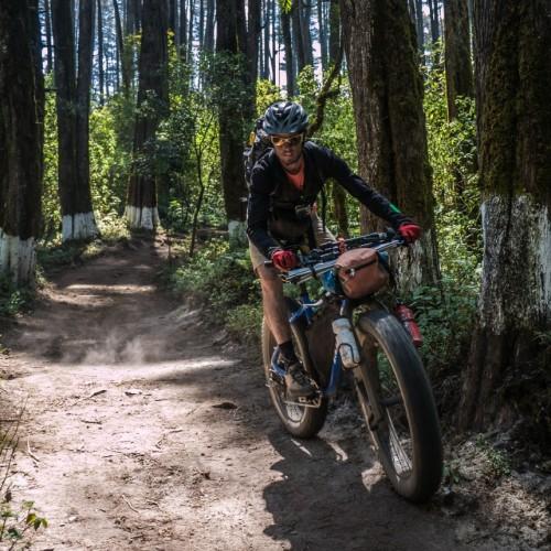 1x1 Instagram, Action, Volcanarchy: Fatbiking Guatemala's Highest Volcanoes. Sponsors: Fatback Bikes, Lauf Forks, Gore Bike Wear, Julbo USA.   12N San Marcos, GuatemalaFilename: VC2016_EP02-XCHI-0325-G7-065Original Date: 03/25/2016© 2016 Brendan James Photography www.picsporadic.com