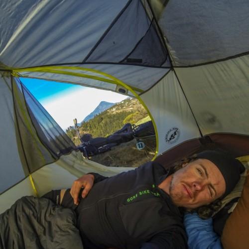 1x1 instagram, selfie, Volcanarchy: Fatbiking Guatemala's Highest Volcanoes. Sponsors: Fatback Bikes, Lauf Forks, Gore Bike Wear, Julbo USA. | Unnamed Road Ixchiguán, GuatemalaFilename: VC2016_EP02-XCHI-0326-GOPRO-126Original Date: 03/23/2016© 2016 Brendan James Photography www.picsporadic.com