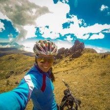 1x1 instagram, selfie, Volcanarchy: Fatbiking Guatemala's Highest Volcanoes. Sponsors: Fatback Bikes, Lauf Forks, Gore Bike Wear, Julbo USA. | Piedras Partidas Ixchiguán, GuatemalaFilename: VC2016_EP02-XCHI-0326-GOPRO-154Original Date: 03/24/2016© 2016 Brendan James Photography www.picsporadic.com