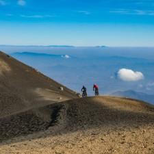 Volcanarchy:  Fatbiking Guatemala's Highest Volcanoes. Sponsors: Fatback Bikes, Lauf Forks, Gore Bike Wear, Julbo USA. | Ruta Volcán Acatenango , GuatemalaFilename: VC2016_EP03-ACAT-0329-G7-006-16x9Original Date: 03/29/2016© 2016 Brendan James Photography www.picsporadic.com