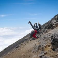Volcanarchy:  Fatbiking Guatemala's Highest Volcanoes. Sponsors: Fatback Bikes, Lauf Forks, Gore Bike Wear, Julbo USA.   Ruta Volcán Acatenango , GuatemalaFilename: VC2016_EP03-ACAT-0329-G7-023-16x9Original Date: 03/29/2016© 2016 Brendan James Photography www.picsporadic.com