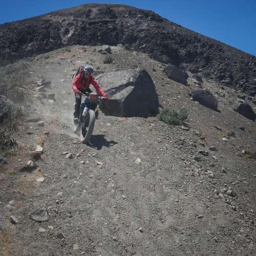 Volcanarchy:  Fatbiking Guatemala's Highest Volcanoes. Sponsors: Fatback Bikes, Lauf Forks, Gore Bike Wear, Julbo USA.   Ruta Volcán Acatenango , GuatemalaFilename: VC2016_EP03-ACAT-0329-G7-030-16x9Original Date: 03/29/2016© 2016 Brendan James Photography www.picsporadic.com