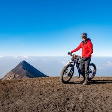 Volcanarchy:  Fatbiking Guatemala's Highest Volcanoes. Sponsors: Fatback Bikes, Lauf Forks, Gore Bike Wear, Julbo USA. | Ruta Volcán Acatenango , GuatemalaFilename: VC2016_EP03-ACAT-0329-G7-045Original Date: 03/29/2016© 2016 Brendan James Photography www.picsporadic.com