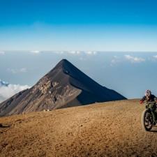 Volcanarchy:  Fatbiking Guatemala's Highest Volcanoes. Sponsors: Fatback Bikes, Lauf Forks, Gore Bike Wear, Julbo USA. | Ruta Volcán Acatenango , GuatemalaFilename: VC2016_EP03-ACAT-0329-G7-056Original Date: 03/29/2016© 2016 Brendan James Photography www.picsporadic.com