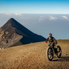 Volcanarchy:  Fatbiking Guatemala's Highest Volcanoes. Sponsors: Fatback Bikes, Lauf Forks, Gore Bike Wear, Julbo USA. | Ruta Volcán Acatenango , GuatemalaFilename: VC2016_EP03-ACAT-0329-G7-057Original Date: 03/29/2016© 2016 Brendan James Photography www.picsporadic.com