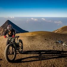 Volcanarchy:  Fatbiking Guatemala's Highest Volcanoes. Sponsors: Fatback Bikes, Lauf Forks, Gore Bike Wear, Julbo USA.   Ruta Volcán Acatenango , GuatemalaFilename: VC2016_EP03-ACAT-0329-G7-061Original Date: 03/29/2016© 2016 Brendan James Photography www.picsporadic.com