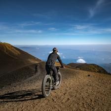 Volcanarchy:  Fatbiking Guatemala's Highest Volcanoes. Sponsors: Fatback Bikes, Lauf Forks, Gore Bike Wear, Julbo USA. | Ruta Volcán Acatenango , GuatemalaFilename: VC2016_EP03-ACAT-0329-G7-071Original Date: 03/29/2016© 2016 Brendan James Photography www.picsporadic.com