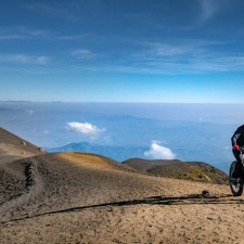 Volcanarchy:  Fatbiking Guatemala's Highest Volcanoes. Sponsors: Fatback Bikes, Lauf Forks, Gore Bike Wear, Julbo USA.   Ruta Volcán Acatenango , GuatemalaFilename: VC2016_EP03-ACAT-0329-G7-077Original Date: 03/29/2016© 2016 Brendan James Photography www.picsporadic.com