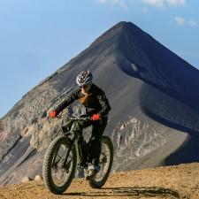 Volcanarchy:  Fatbiking Guatemala's Highest Volcanoes. Sponsors: Fatback Bikes, Lauf Forks, Gore Bike Wear, Julbo USA. | Ruta Volcán Acatenango , GuatemalaFilename: VC2016_EP03-ACAT-0329-G7-113-4K.00_09_27_08.Still018-PanoOriginal Date: 03/30/2016© 2016 Brendan James Photography www.picsporadic.com