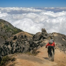 Volcanarchy:  Fatbiking Guatemala's Highest Volcanoes. Sponsors: Fatback Bikes, Lauf Forks, Gore Bike Wear, Julbo USA. | Ruta Volcán Acatenango , GuatemalaFilename: VC2016_EP03-ACAT-0329-G7-113-4K.00_16_13_13.Still026Original Date: 03/30/2016© 2016 Brendan James Photography www.picsporadic.com