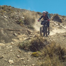 Volcanarchy:  Fatbiking Guatemala's Highest Volcanoes. Sponsors: Fatback Bikes, Lauf Forks, Gore Bike Wear, Julbo USA. | Ruta Volcán Acatenango , GuatemalaFilename: VC2016_EP03-ACAT-0329-GH3-055Original Date: 03/29/2016© 2016 Brendan James Photography www.picsporadic.com
