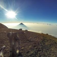 Volcanarchy:  Fatbiking Guatemala's Highest Volcanoes. Sponsors: Fatback Bikes, Lauf Forks, Gore Bike Wear, Julbo USA. | Ruta Volcán Acatenango , GuatemalaFilename: VC2016_EP03-ACAT-0329-GOPRO-19Original Date: 03/29/2016© 2016 Brendan James Photography www.picsporadic.com