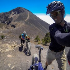 Volcanarchy:  Fatbiking Guatemala's Highest Volcanoes. Sponsors: Fatback Bikes, Lauf Forks, Gore Bike Wear, Julbo USA. | Ruta Volcán Acatenango , GuatemalaFilename: VC2016_EP03-ACAT-0329-GOPRO-38Original Date: 03/29/2016© 2016 Brendan James Photography www.picsporadic.com