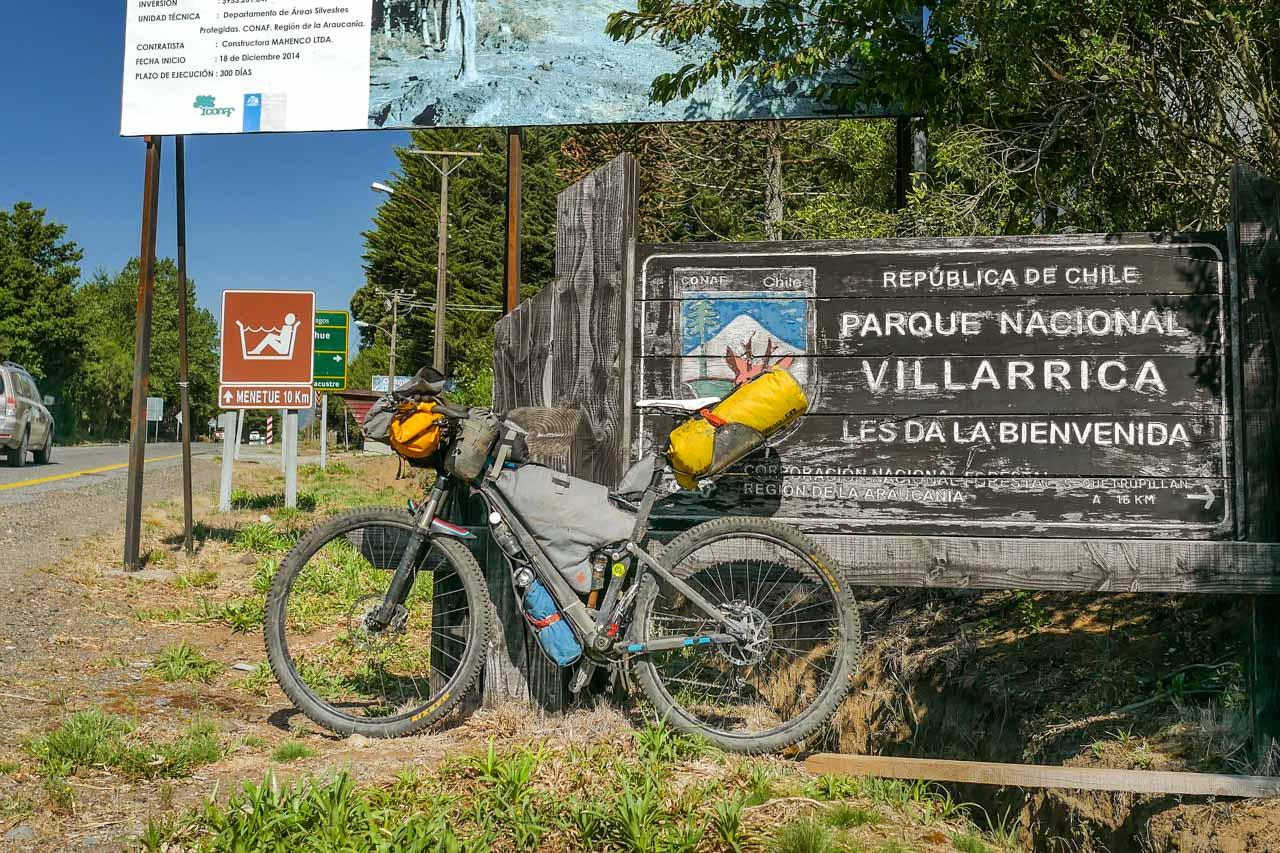 bikepacking parque villarrica